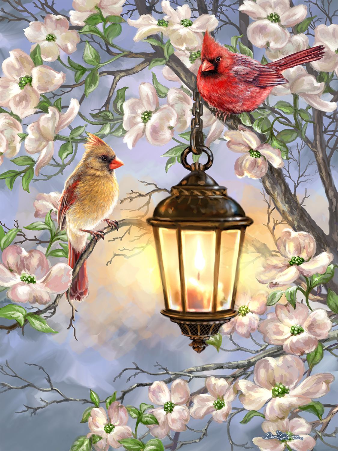 Morning Serenade 36 Piece Made in USA Large 23.5 by 18 Springbok Puzzles- Alzheimer /& Dementia Jigsaw Puzzles