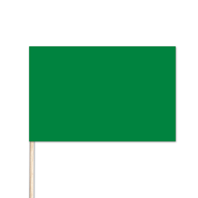 "Libya World Stick Flag - 4"" x 6"" - Cotton"