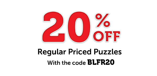 20% Off Regular Priced Puzzles