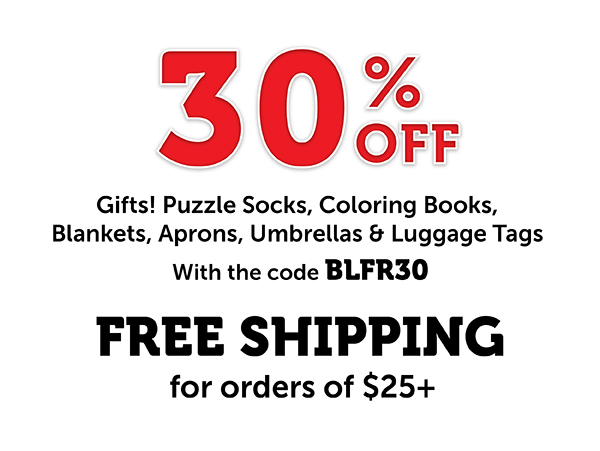 30% Off Puzzle Gifts