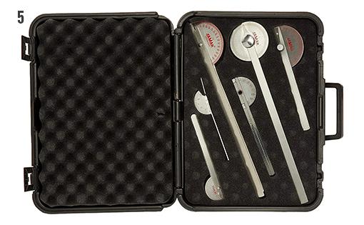 Roestvrij stalen goniometers