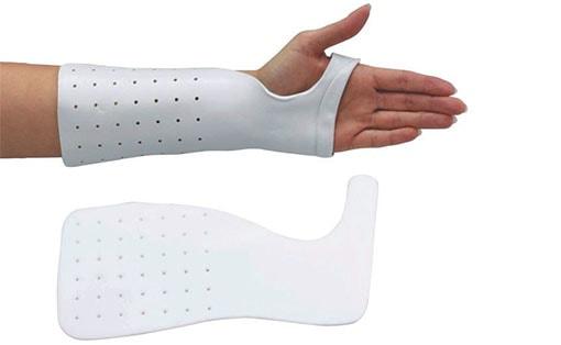 Radial Bar Wrist Cock-up Splint