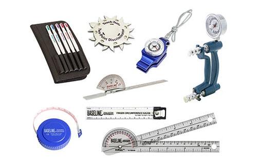 Kit d'évaluation de la main 8 Instruments Baseline