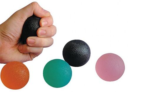 Balle en gel pour exercice de la main