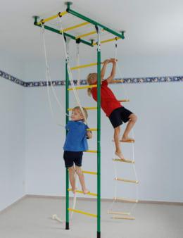 Das KletterDschungel Grundgerüst. Ein Klettergerüst zum kletter und toben zuhause im Kinderzimmer.