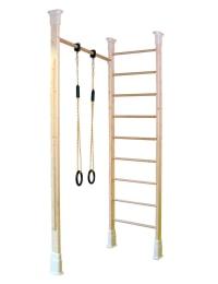 KletterDschungel Holz Sprossenwandset - Indoor Sportgerät
