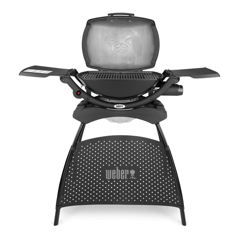 Weber Q2000 Black With Barbecue Stand