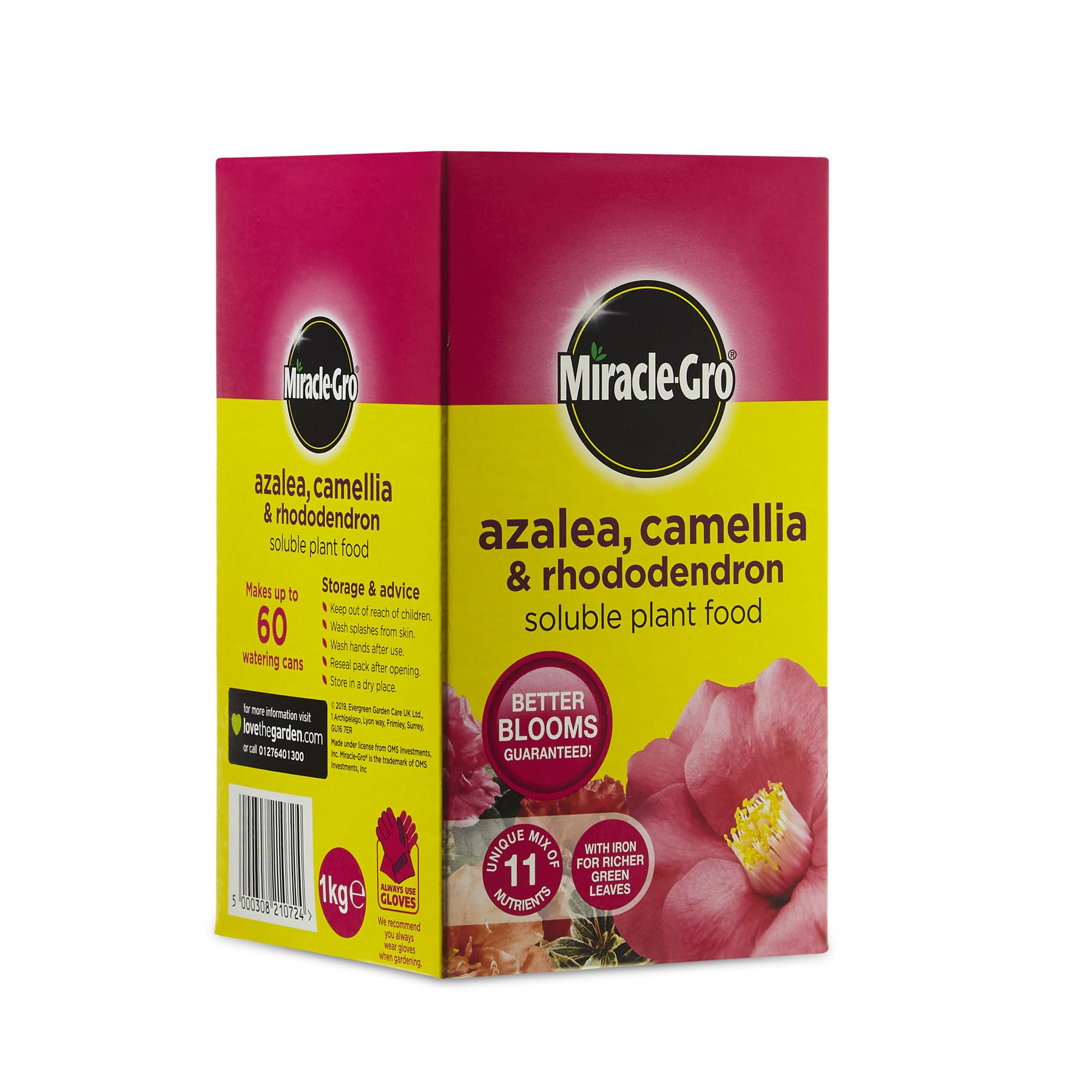 Miracle-Gro Azeala, Camellia and Rhododendron Soluble Plant Food