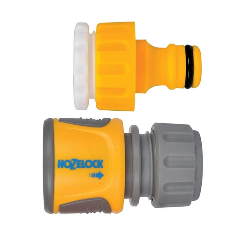 Hozelock Thread Tap & Standard Soft Touch Hose End Connector