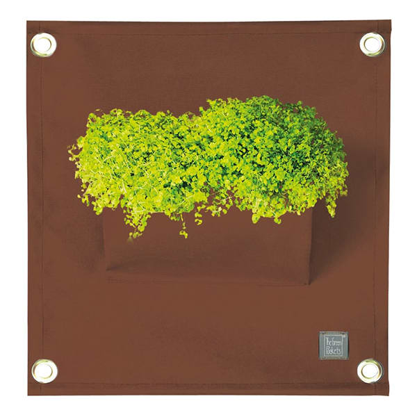 The Green 'AMMA' Pockets, Brown