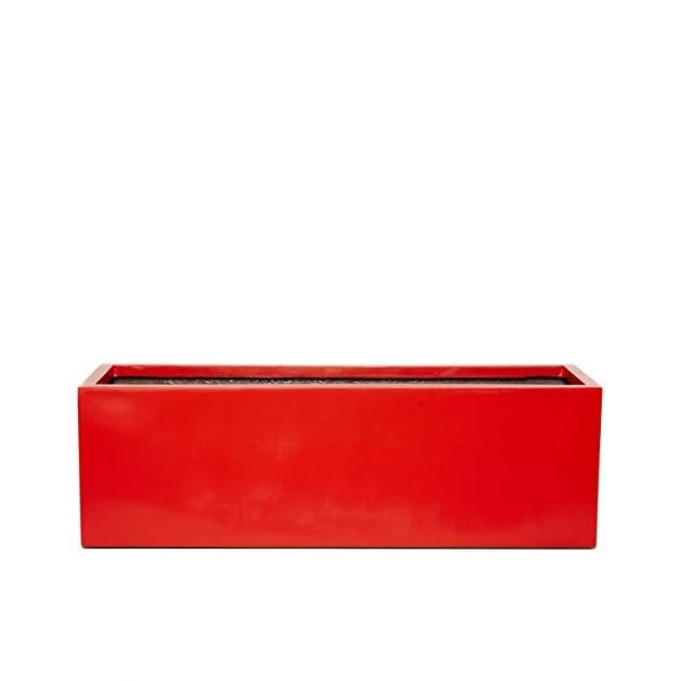 Red Contemporary Trough