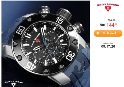 Lionpulse Legend €144 Voor 95 Swiss Horloge eDIY2H9WE