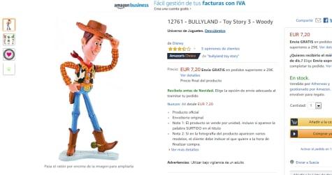 Por7 Woody Toy 20€ Story Juguete Niños ukiPXZO