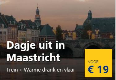 Treinkaartje Naar Maastricht Incl Warme Drank En Vlaai Voor 19