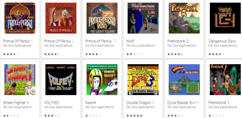 ms dos games android