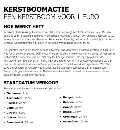 Ikea Kerstboom Voor 1 Ikea Bon Twv 19 Voor 20