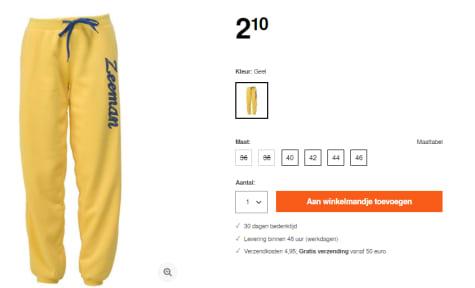 Joggingbroek Scapino.Dames Zeeman Sweater Joggingbroek Voor 2 10