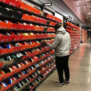 Nike outlet met 50% extra korting