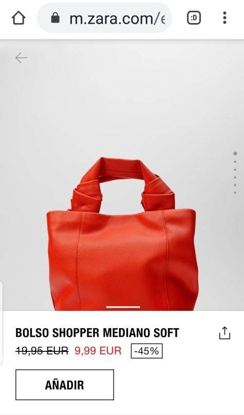 Las mejores ofertas en Bolso de Hombro Zara medio Bolsas y
