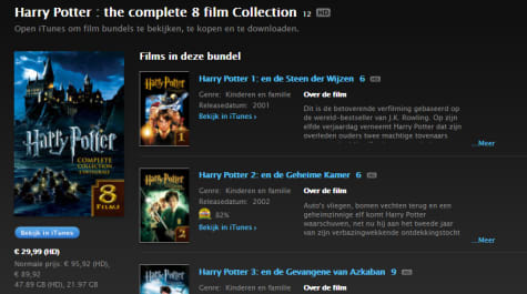 Harry Potter - Complete 8-Film Collection 4K Ultra HD voor