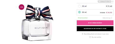 Tommy Hilfiger Woman Peach Blossom 50ml EDP Spray voor </p>