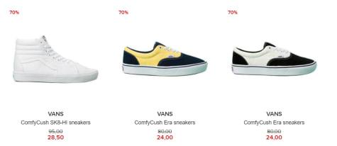 70% korting op Vans Comfycrush Era heren sneakers