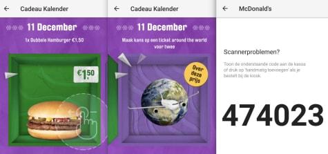 Cadeau Kalender Mcdonalds