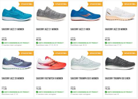 Hardloopshop.nl: €10, korting op ALLE hardloopschoenen van