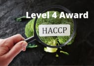 Level 4 Award in HACCP Online Course