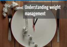 Understanding weight manangement online