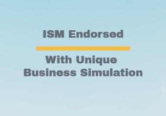 ISM Endorsed with unique business simulation