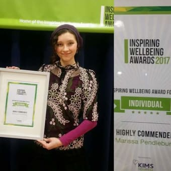 Highly Commended National Symposium Award Health Welling 2017