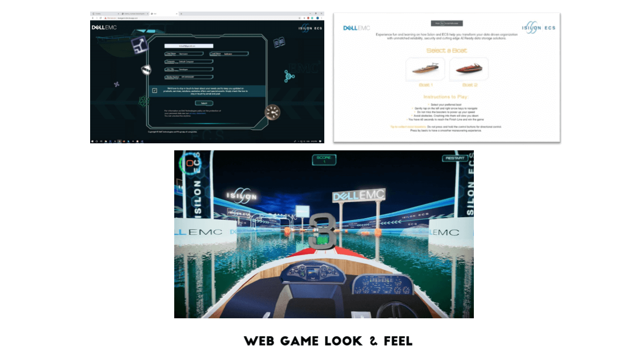 Web Game Look and Feel