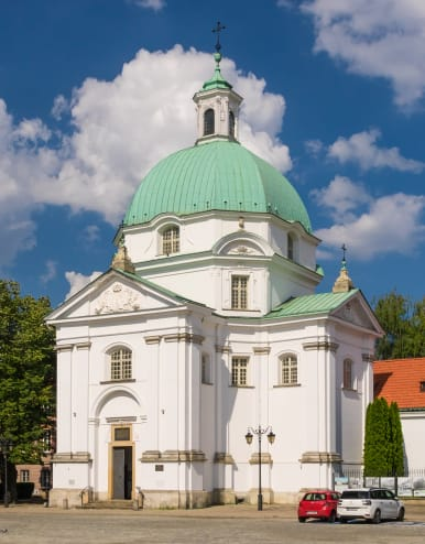 Reconstructed Church of the Sisters of the Holy Sacrament in the New Town, Warsaw