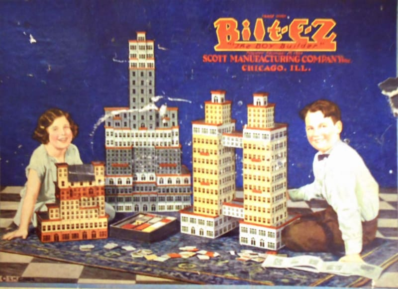 Cover of a Bilt-E-Z box