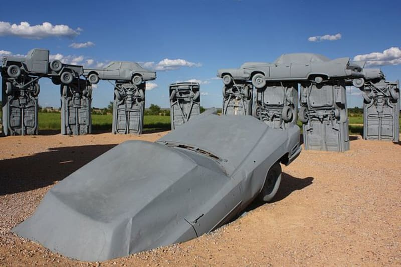 Carhenge, Alliance Nebraska: photo by Brian W Schaller