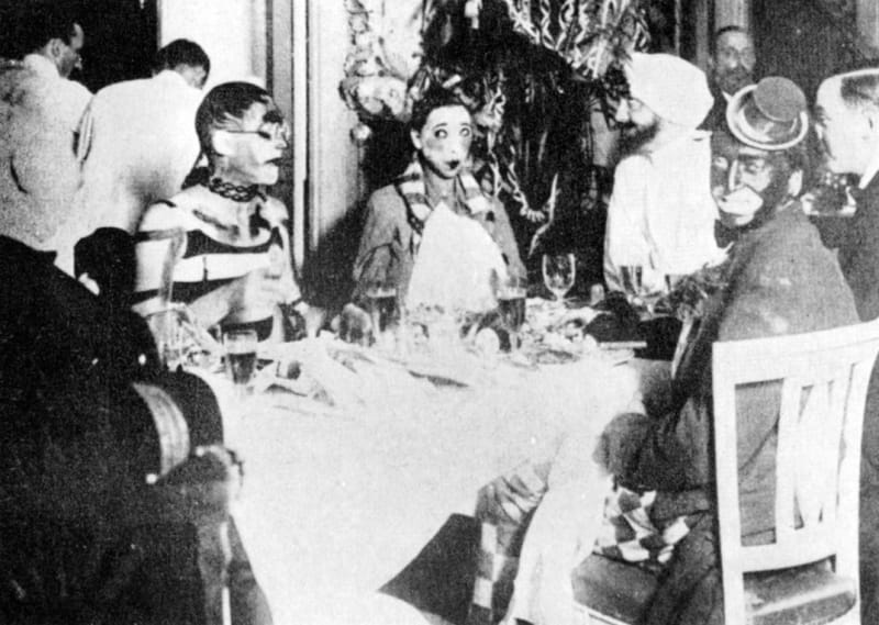 Le Corbusier and Josephine Baker at a costume party on board the <em>Lutétia. </em>What did she think about the guest in blackface opposite?