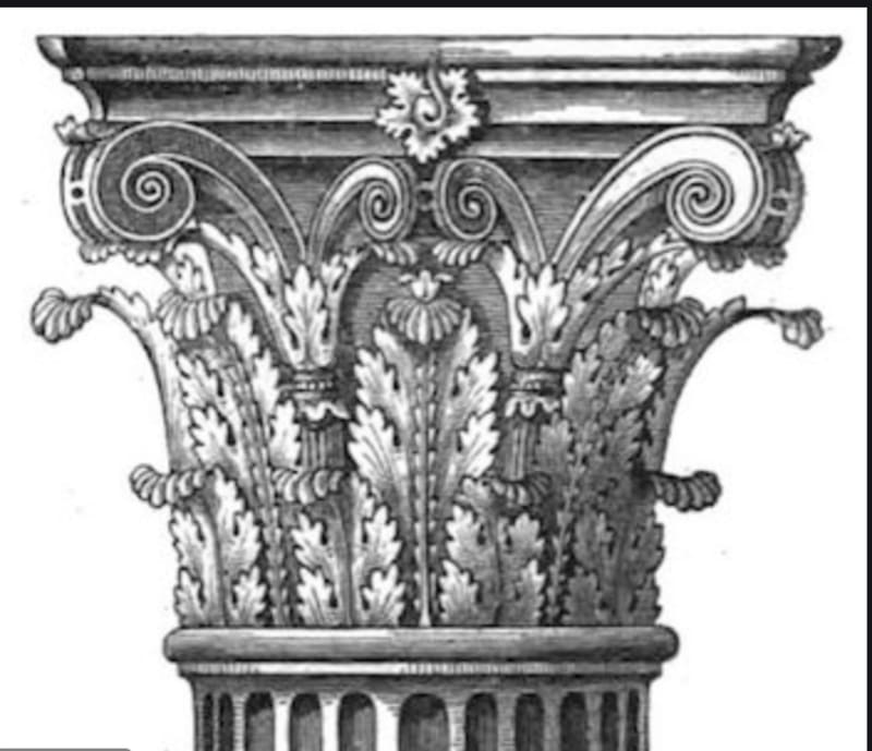 A Corinthian capital