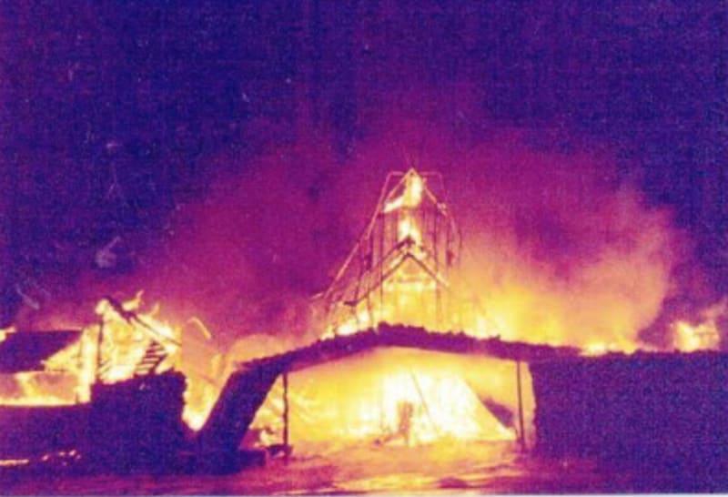 Shin'enKan burning: from archive.4plebs.org