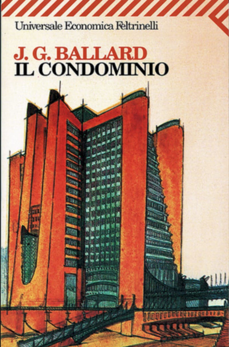 The Italian edition of J G Ballard's 'High-Rise' illustrated with a project by Antonio Sant'Elia of 1913