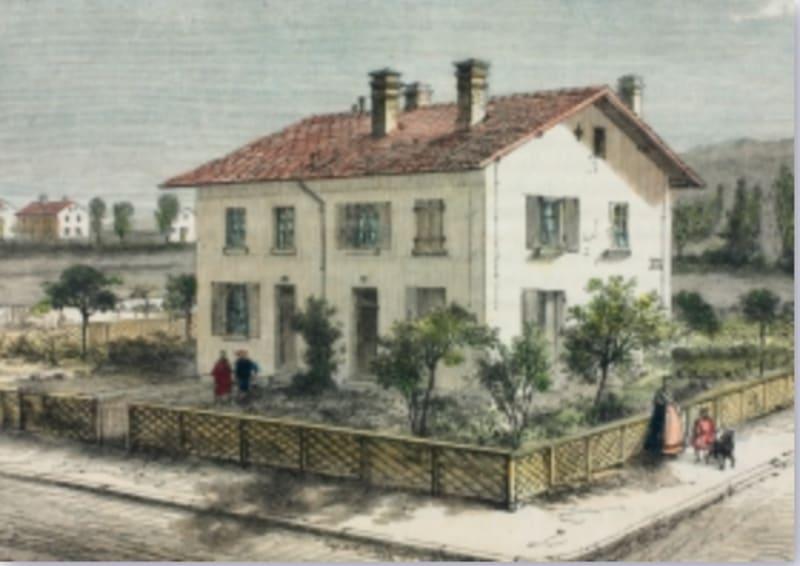 The<i>Carré Mulhousien,</i>around 1855: Collection des Archives de Mulhouse