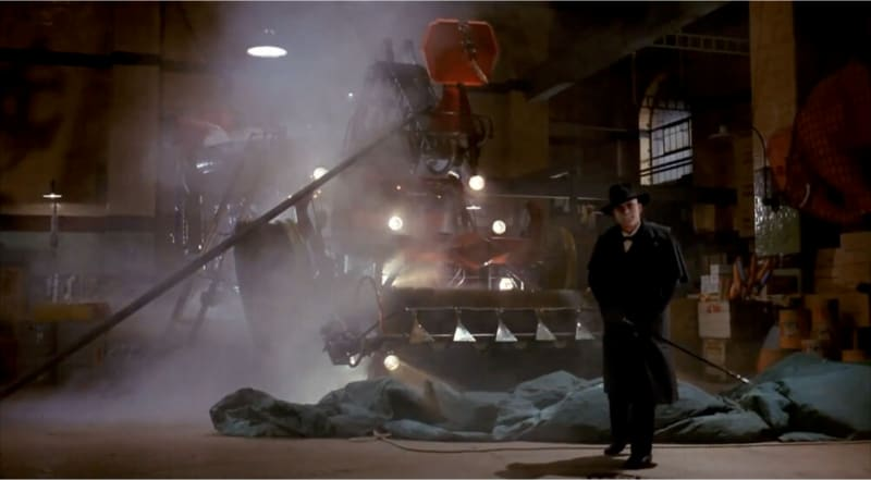 Judge Doom and the Dipmobile in 'Who Framed Roger Rabbit?'