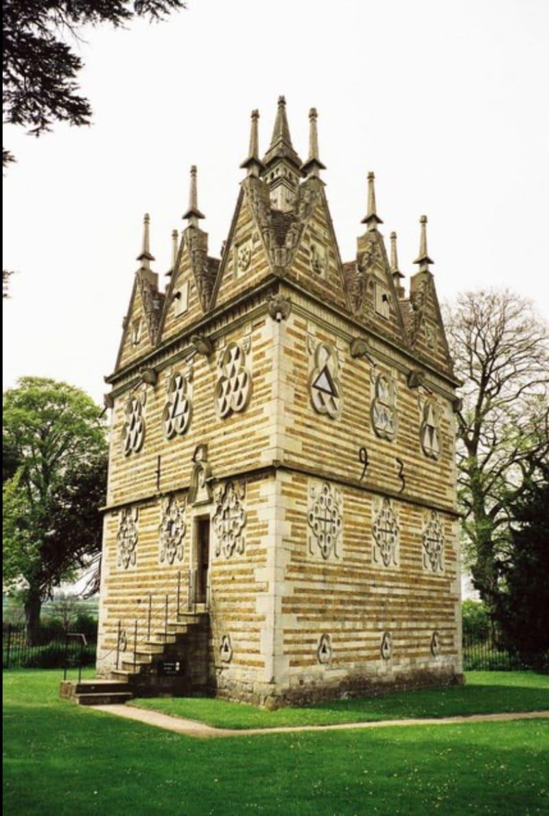 Tresham Lodge, Rushton, Northamptonshire: photo by Chris Downer, Wikimedia Commons