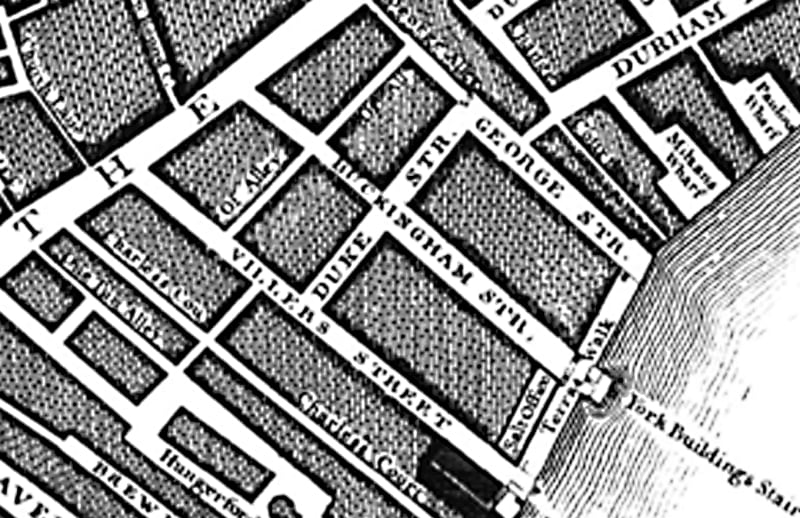 John Roque's map of London of 1746