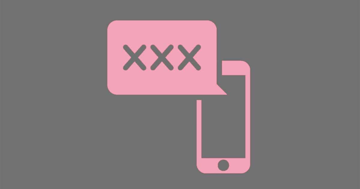 Chatsex dengan teman dari aplikasi kencan online
