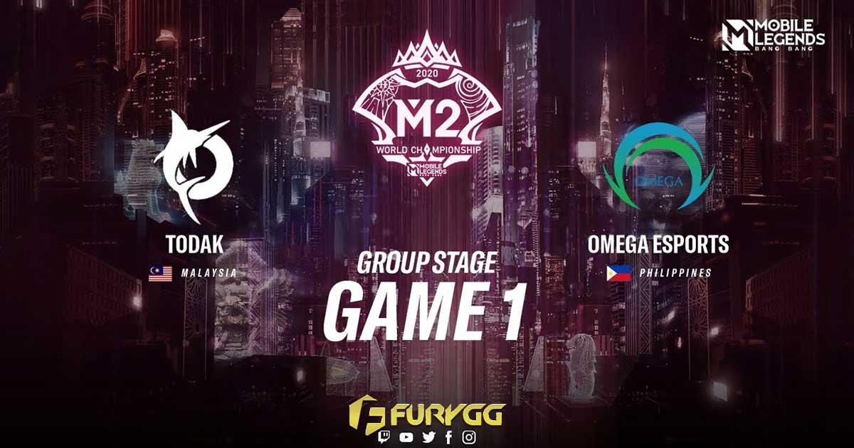 Omega Esports Tak Terkalahkan di Pembukaan M2