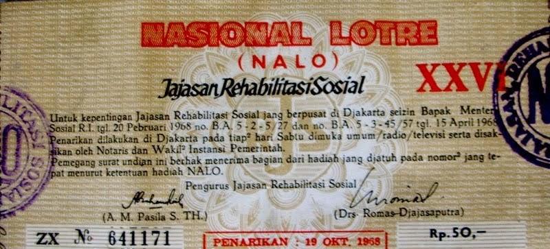 Sejarah masuknya togel di Indonesia