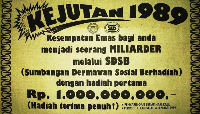 Sejarah berdirinya SDSB di Indonesia