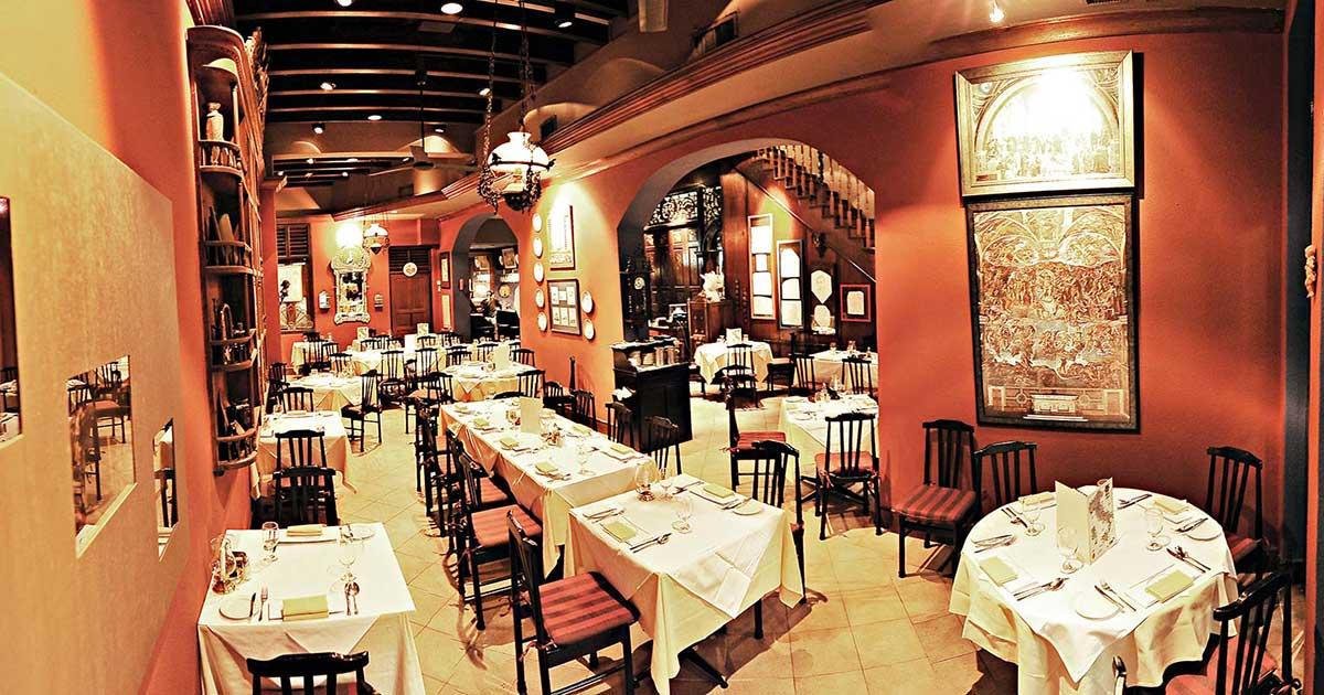 Best Restaurant for romantic dinner in singapore - Pasta Brava
