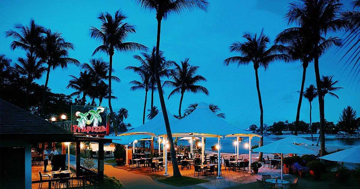 Best Restaurant for romantic dinner in singapore - Trapizza